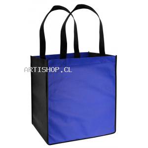 Bolsa TNT Bicolor 33 x 37 x 25  cm