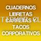 Cuadernos-Libretas-Carpetas- Tacos Corporativos